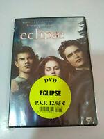 Eclipse la Saga Crepusculo - DVD + Extras Español English Nueva
