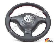 VW Golf 4 IV GTI V5 Sportlenkrad Highline Aufgepolstert Rote Nähte Neu Beziehen