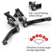 For Yamaha FZ6 FAZER 2004-2010 Adjustable Folding Extendable Brake Clutch Levers