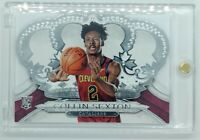 2018-19 Panini Crown Royale Collin Sexton Rookie RC #183, Cleveland Cavaliers