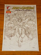 ARMY OF DARKNESS ASHES 2 ASHES #4 SKETCH VARIANT COMIC