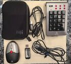Targus PAKP003U Wireless Keypad and Mouse Combo w/ User Guide + Batteries