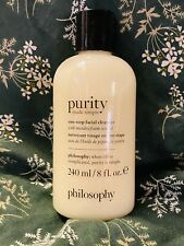 New listing Philosophy Purity Made Simple One Step Facial Cleanser 8 Fl Oz Sealed Wash Soap
