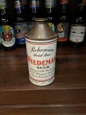 Weidemann Beer - Cone Top Beer Can - Geo Wiedeman Brewing  USBC# 189-7