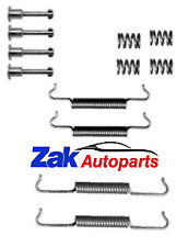 PEUGEOT 406 HANDBRAKE SHOES FITTING KIT WITH SPRINGS CLIPS SET NEW