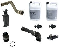 BMW E46 Water Pump Thermostat Recovery Tank Hoses Cooling Overhaul Kit