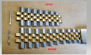 Rolex Bracelet Stretch Repair Service on your Rolex Datejust/ GMT Jubilee