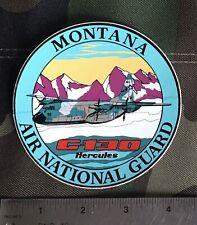 Montana Air National Guard , C-130 Hercules Sticker.