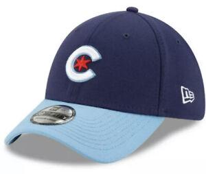 Chicago Cubs New Era Navy/Light Blue 2021 City Connect 39THIRTY FLEX Hat (M/L)
