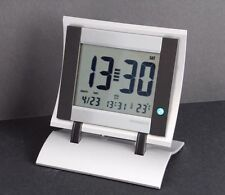 LARGE EASY TO READ L.C.D ALARM DESK CLOCK (OUR REF OXNOCODE)