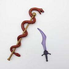 He-Man Motu Weapon 2Pcs Sword & Mace  Mattel Lot 100% Accessory Classics