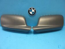 2 Door Mirror Covers Set Left and Right Replace BMW OEM# 51167074235/6