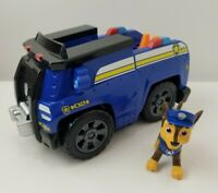 Nickelodeon Paw Patrol On a Roll Chase Figure Vehicle Sound Moveable Back