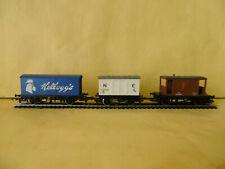 Hornby OO Asst Model Railway Wagons x 3 Kelloggs, Refrigerator & 20Ton Brake Van