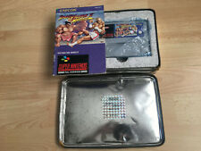 Street Fighter II 2 Limited Edition Snes Game Box Set Tin + Manual