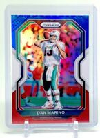 2020 Panini Prizm DAN MARINO Red White Blue Parallel #18 Miami Dolphins