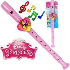 "Disney's Princess Plastic Recorder Flutes Musical Instrument 13.5"""