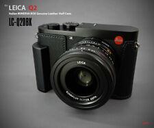 Lim's Design Lims LC-Q2DBK Genuine Italy Leather Case for Leica Q2, Black