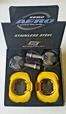 Speedplay Zero Aero Stainless Steel Advanced Bike Bicycle Pedal System Black