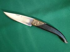 VTG RARE BULGARIAN HANDMADE FOLDING POCKET KNIFE CAMPING HUNTING FISHING TOOL