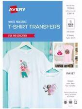 Avery Paper Transfer Inspired A4 White T-shirt Ij76 Pk5