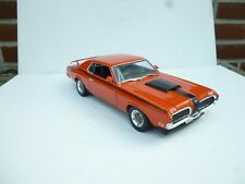 Mercury Cougar Eliminator Coupe 1970 Dark Orange Black WELLY 1:18 NO BOX