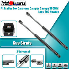 2x 380MM 200N Gas Struts for Caravans Camper Trailers Canopy Toolboxes Cabinets