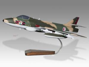 Hawker Hunter FGA74S Singapore Air Force Mahogany Wood Handmade Desktop Model