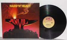 ANVIL Hard 'N' Heavy LP Vinyl France Attic Lips Hot Child Bondage Bedroom Game