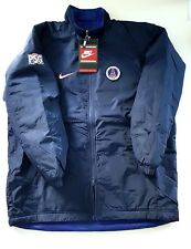 VTG 1996 NIKE PSG PLAYER ISSUE BENCH COAT REVERSIBLE JACKET FOOTBALL SOCCER NEW