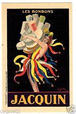 POSTCARD FRENCH CAPPIELLO 1930 JACQUIN CANDIES LES BONBONS