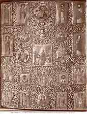 Alinari. Italie, Siena, biblioteca comunale, coperta di un evangelario greco  Vi