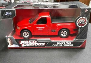 JADA TOYS.. FAST AND FURIOUS.. BRIAN'S FORD F 150 SVT LIGHTNING..1:32 SCALE..RED