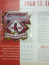 St Louis Cardinals 1968 NL Champions Patch Willabee Ward Champions Collection