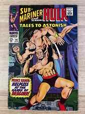 Tales to Astonish #94 (Marvel Comics) Hulk and Sub-Mariner appearance