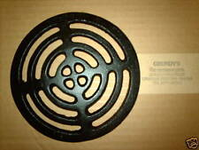 """7"""" ROUND Cast Iron Gully Grid Driveway Drain Cover"""