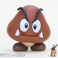Gumba Figur Super Mario Bros Spielzeug Pilz Toy Goomba Nintendo Pilz NEU & OVP