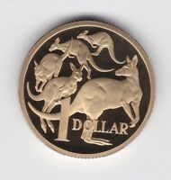 2010 Australia One 1 Dollar $1 Kangaroo PROOF Coin ex Proof Set