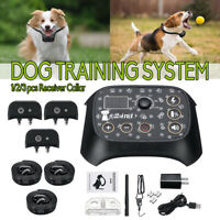 Pet Dog Fence Wireless Containment System Waterproof Training Transmitter Collar