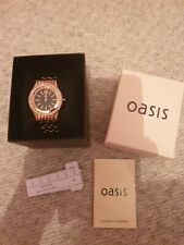 Oasis Rose Gold Watch
