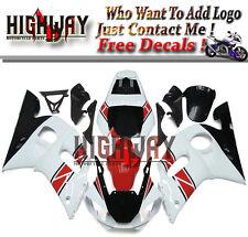 Red White Pearl Fairings For Yamaha YZF R6 1998-2002 9 Bodywork ABS Fairing Kit