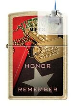 Zippo 207G vietnam vets honor Lighter & Z-PLUS INSERT BUNDLE