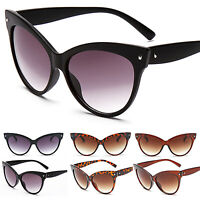 Womens Vintage Retro Style Cat Eye Sunglasses Eyewear Fashion Shades Sun Glasses