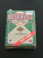 1990 Upper Deck Factory Sealed High # Complete Set 701-800 Omar Vizquel RC
