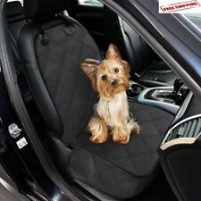 Luxury Pet Car SUV Van Front Seat Cover Waterproof Hammock for Dog Cat Nonslip