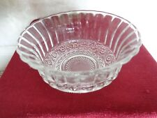 Crystal Berry Bowl Marked Indonesia (#0477)