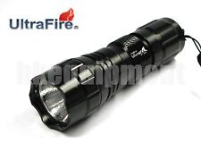 Ultrafire G37 WF-501A Tactical Flashlight Torch Body 6p