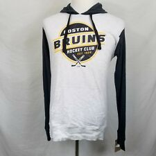 Boston Bruins NHL Hoodie Team Color Logo Licensed Hockey Club NEW Free Ship