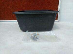 Karran Q-15 Midnight Black Special Vanity Sink