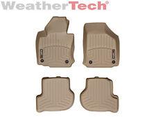 WeatherTech Floor Mats FloorLiner for Golf/GTI/Jetta/Rabbit 1st & 2nd Row - Tan
